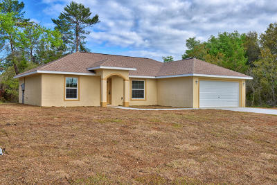 Ocala Single Family Home For Sale: 5392 SW 165th Street Road