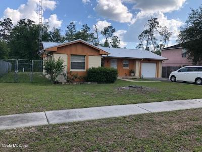 Ocala Single Family Home For Sale: 15030 SW 39th Circle
