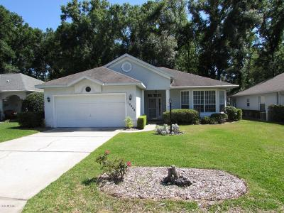 Dunnellon Single Family Home For Sale: 19048 SW 91 Street