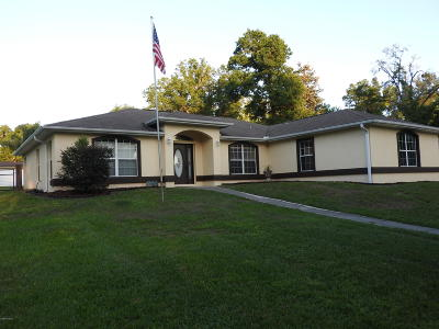 Summerfield Single Family Home For Sale: 13829 SE 53rd Ave