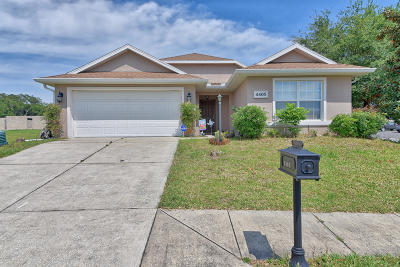 Ocala Single Family Home For Sale: 4405 NW 2nd Court