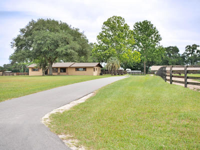 Ocala Farm For Sale: 6945 SW 70th Avenue