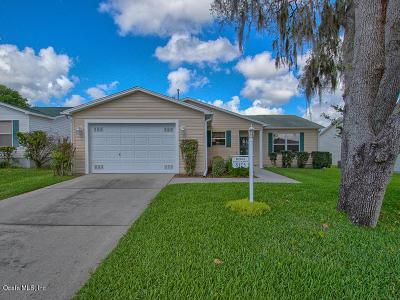 The Villages Single Family Home For Sale: 8125 SE 174th Belhaven Loop