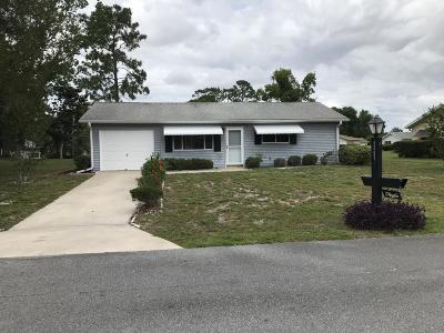 Ocala Single Family Home For Sale: 8367 SW 107th Lane