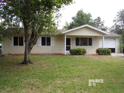 Single Family Home For Sale: 8881 SW 109th Street