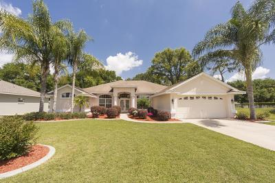 Belleview Single Family Home For Sale: 6821 SE 100 Place