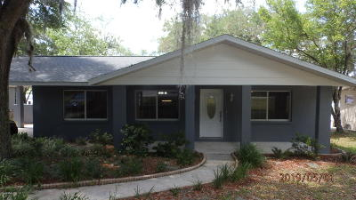 Dunnellon Single Family Home For Sale: 1298 SW Shorewood Drive