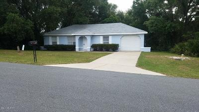 Ocala Single Family Home For Sale: 15140 SW 43rd Ave Road