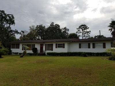 Ocala Single Family Home For Sale: 2808 E Fort King Street