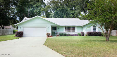 Ocala Single Family Home For Sale: 3791 SE 45th Place