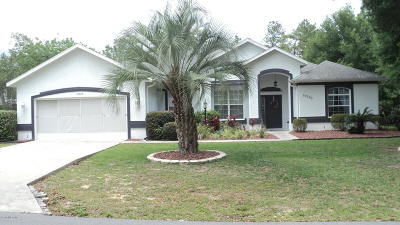 Dunnellon Single Family Home Pending-Continue to Show: 19395 SW 100th Loop