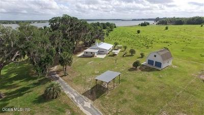 Lake Weir Single Family Home Pending: 11155 SE Sunset Harbor Road
