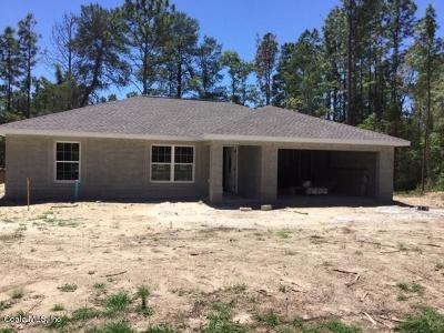 Ocala Single Family Home For Sale: 6256 SW 134th Loop