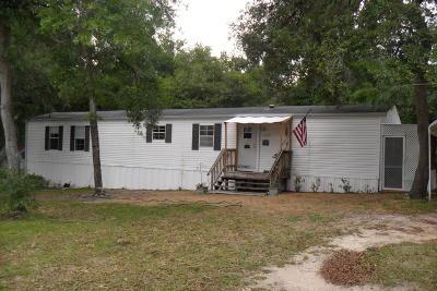 Fort McCoy Single Family Home For Sale: 14475 NE 189th Street