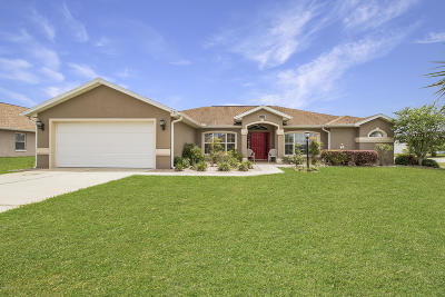 Ocala Single Family Home For Sale: 5096 SW 99th Place