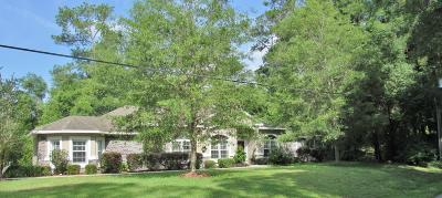 Dunnellon Single Family Home For Sale: 11470 Camp Drive