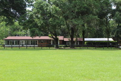 Marion County Farm For Sale: 5150 NW 160th Street