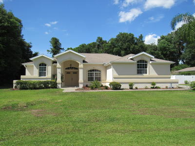 Marion County Single Family Home For Sale: 7664 SW 102nd Loop