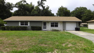 Belleview Rental For Rent: 6045 SE 119th Place