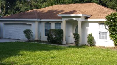 Summerfield Single Family Home For Sale: 13615 SE 44 Terrace