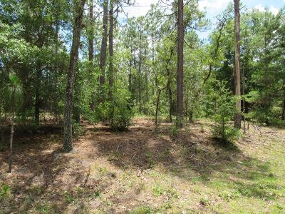 Rainbow Spgs Wd Residential Lots & Land For Sale: SW 204th Circle