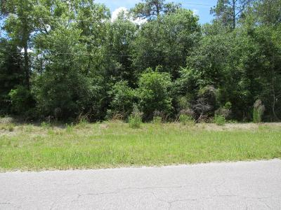 Rainbow Spgs Cc Residential Lots & Land For Sale: SW 217 Ct Road