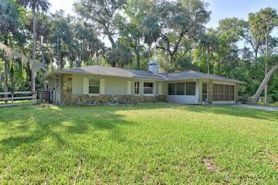 Hernando Single Family Home For Sale: 6425 E East River Road