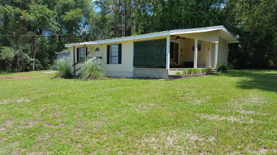 Salt Springs Single Family Home For Sale: 24873 E Hwy 316