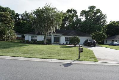 Ocala Single Family Home For Sale: 3434 SW 10th Terrace