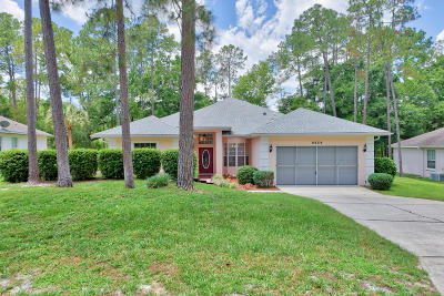 Dunnellon Single Family Home For Sale: 9239 SW 193rd Circle