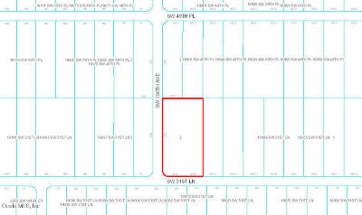 Dunnellon Residential Lots & Land For Sale: SW 51 St Lane