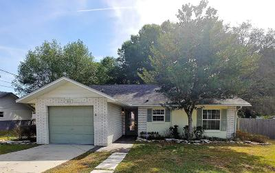 Belleview Single Family Home For Sale: 12183 SE 96th Terrace