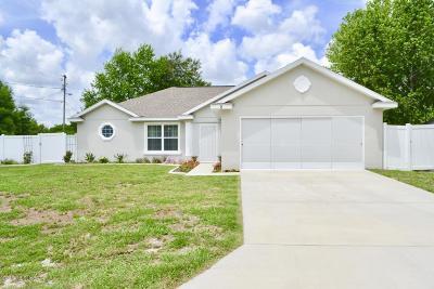 Ocala Single Family Home For Sale: 2 Hemlock Terrace Trail
