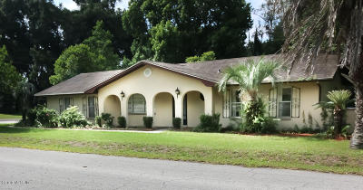Citrus County Single Family Home For Sale: 6556 E Morley Street
