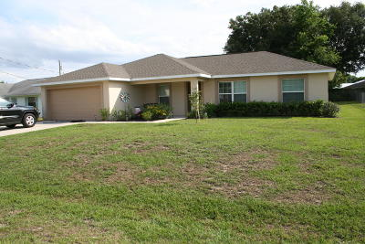 Ocala Single Family Home For Sale: 16 Almond Trace
