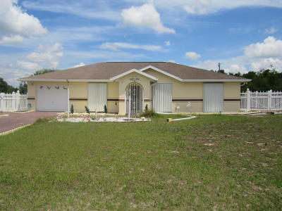 Ocala Single Family Home For Auction: 16325 SW 17 Terrace Road