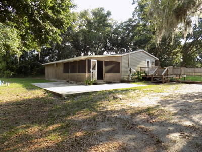 Summerfield Mobile/Manufactured For Sale: 10782 SE 166 Lane