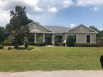Belleview Single Family Home For Sale: 10185 SE 136th Lane