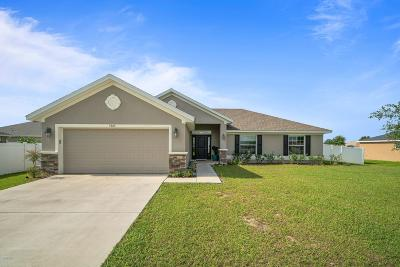 Ocala Single Family Home For Sale: 5664 SW 96th Place