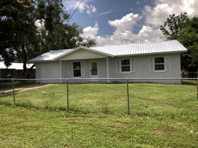 Belleview Single Family Home Pending: 3930 SE County Hwy 484