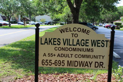 Ocala Condo/Townhouse For Sale: 655 Midway Drive #A