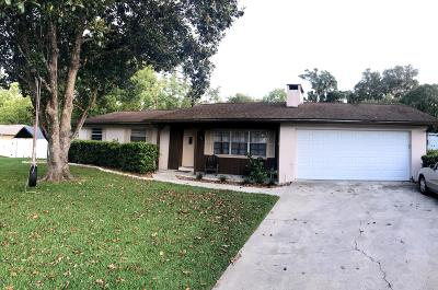 Ocala Single Family Home For Sale: 3283 SE 36th Loop