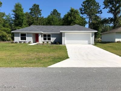 Marion County Single Family Home For Sale: 28 Bahia Court Trak