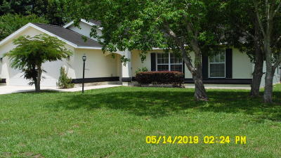 Marion County Single Family Home For Sale: 13501 SW 43rd Cir Circle