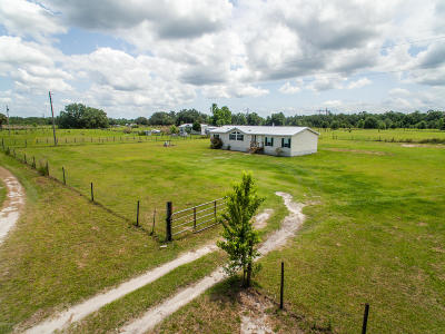 Marion County Single Family Home For Sale: 12150 NE 230th Street