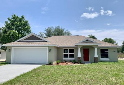 Dunnellon Single Family Home For Sale: 13322 SW 107th Street