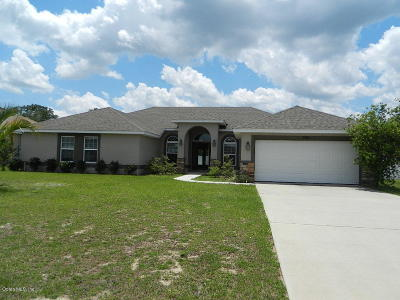 Ocala Single Family Home For Sale: 9882 SW 55th Avenue Road