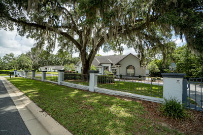 Ocala Single Family Home For Sale: 5405 SW 28th Avenue