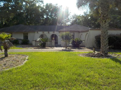 Ocala Single Family Home For Sale: 350 SE 52 Court