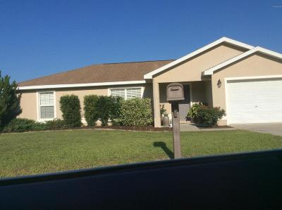 Ocala Single Family Home For Sale: 3730 SW 148th Court